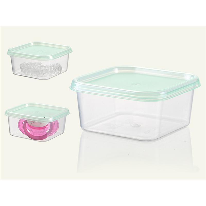 4pcs Baby Food Boxes Kids Snack Container Mini Portable Crisper Sealed Box Born Baby Food Container Baby Food Snack Storage Box