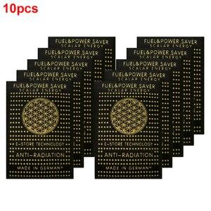 Image 1 - 10個emf保護携帯電話パッチ抗放射線ステッカー中和剤コンピュータシールドエレクトロニクスemrスカラーマイナスイオン