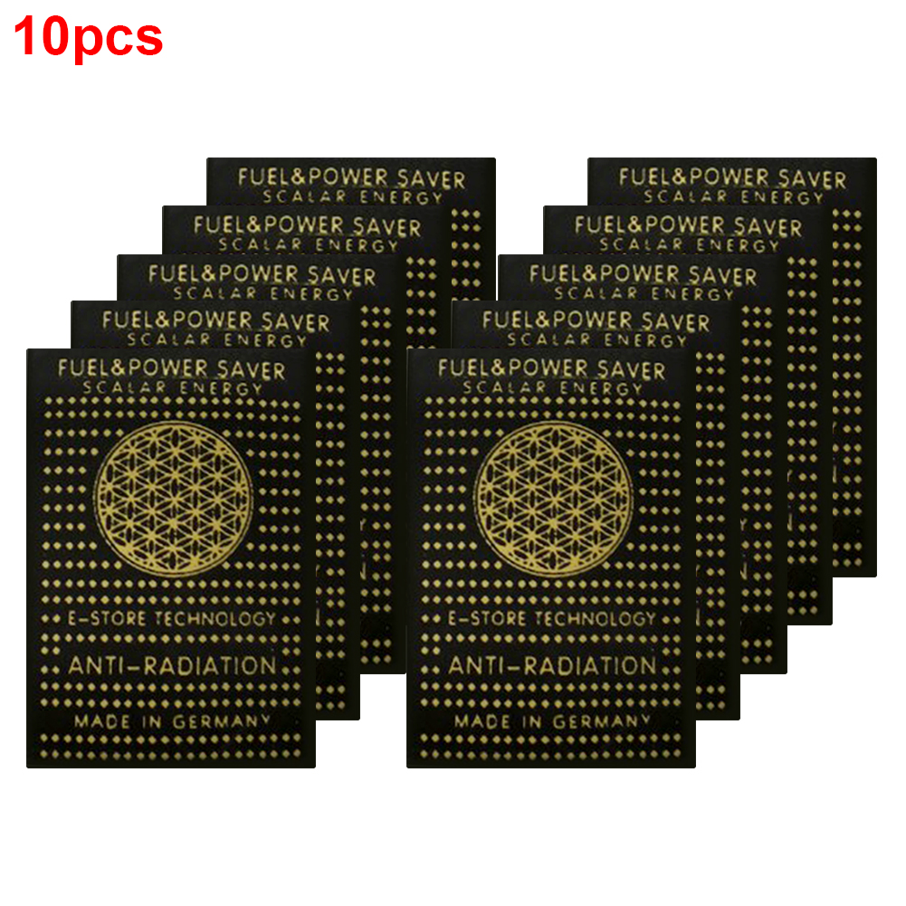 10pcs EMF Protection Cell Phone Patch Anti Radiation Sticker Neutralizer Computer Shield Electronics EMR Scalar Negative Ion