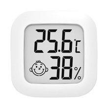 Medidor de temperatura/umidade interno fácil ler mini digital higrothermograph instrumento de medição preciso prático fácil instalar