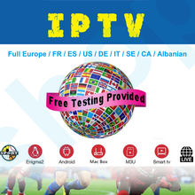 IPTV SUbscription Spain France italian polish Belgium turkish canada portugal UK TV BOX M3U for Smart IPTV Pro SSIPTV Xtream(China)