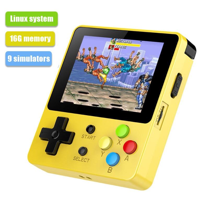 LDK ビデオゲームコンソール VS BittBoy レトロゲームゲームパッド 2.6 インチ画面ハンドヘルドノスタルジック子供ミニファミリーテレビビデオコンソール -