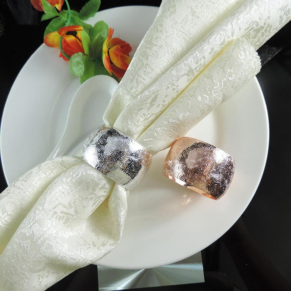 Multi Function Napkin Buckle Towel Napkin Ring For Home Banquet Decoration