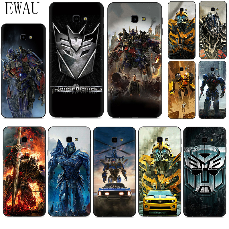 EWAU Transformers Dark of the Moon Silicone phone case for Samsung A2 Core A20E A70s J4 J6 Plus Prime J7 DUO J8 image