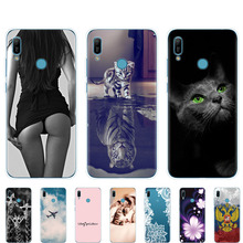 For Huawei y6 2019 Case for Huawei Y6 2019 Silicon TPU Cover Soft Phone case For Huawei Y6 2019 MRD LX1 MRD LX1F Y 6 pro Y6Prime