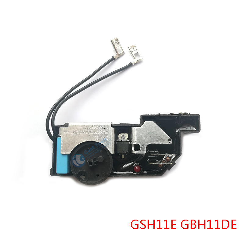 AC 220V-240V Speed Regulator Governor Replacement For BOSCH GSH11E GBH11DE GSH 11E GBH 11DE Demolition Rotary Hammer Spare Parts