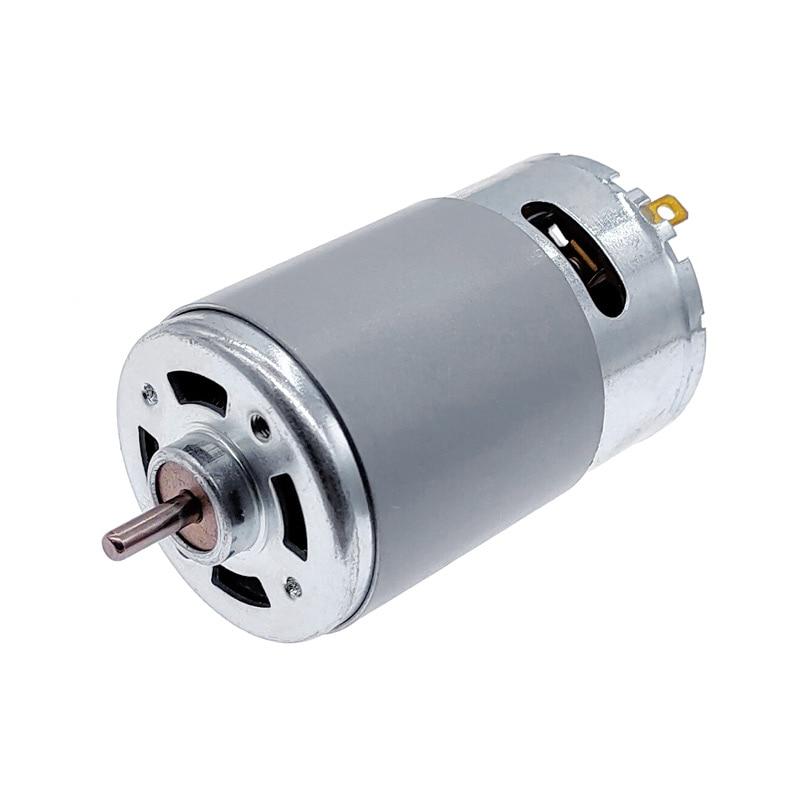 Двигатель постоянного тока RS555 с высоким крутящим моментом, микро-двигатель 555, 12 В, щеточный двигатель 3000 об/мин/4500 об/мин/6000 об/мин