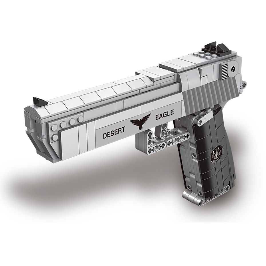 New Xingbao 24004 Assembly Toy Gun Model 528pcs High Simulation The Desert Eagle Pistol Building Blocks Boys Toys Christams Gift