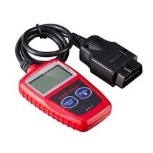 Ms309 ferramenta de diagnóstico universal obd2 scanner luz do motor leitor código falha b36b