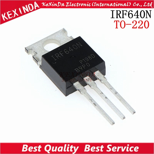 Free Shipping 100pcs/lot  IRF640 IRF640N IRF640NPBF Power MOSFET TO 220 new and original