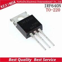 Gratis Verzending 100 stks/partij IRF640 IRF640N IRF640NPBF Power MOSFET TO 220 nieuwe en originele