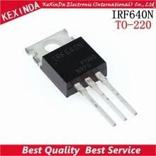 MOSFET de potencia a 100 nuevo y original, envío gratuito, 220 Unidades/lote, IRF640, IRF640N, IRF640NPBF