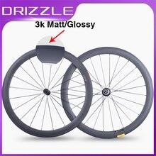 Carbon bike Road wheels Super Light carbon bicycle wheelset 700C 50mm 23mm Clincher Tubular Road Carbon Wheelset factory Outlet цена 2017