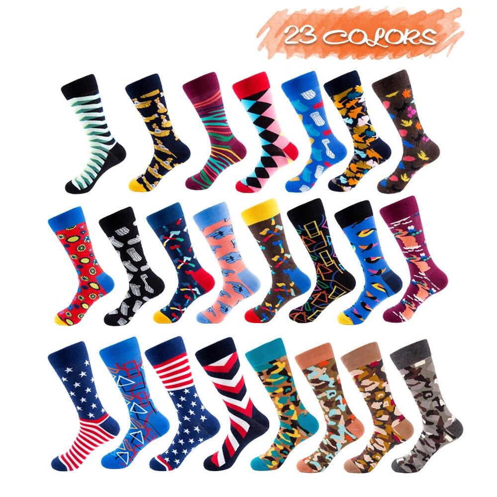 UG Happy Star Pattern Women Socks Uni-sex Happy Design Cotton Socks For Gym Socks
