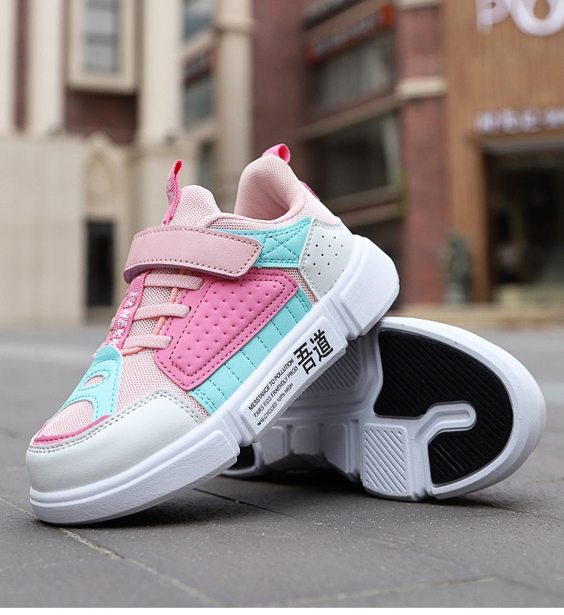 PINSEN 2019 Autumn Kids Sneaker Girls Shoes Fashion Breathable Casual Light Sports Running Shoes For Boys Brand Children Shoes (12)