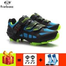 Tiebao обувь для велоспорта с добавлением бутсов mtb дышащая