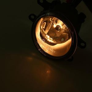 Image 5 - トヨタシエナ用 2011 2017 クリアガラスバンパーペアフロントバンパーサイドランプワイヤーハーネススイッチ + 電球