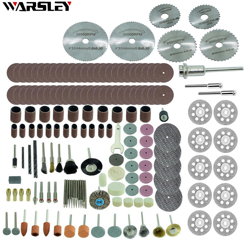 Electric Mini Drill Bit Accessories Set Abrasive Tools Compatible With Dremel Rotary Tool For Grinding Polishing