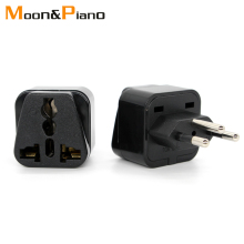 Universal Black Copper 10A 250V EURO UK AU USA EU to Swiss Switzerland Suisse 3 Pin AC Power Plug Converter Travel Adapter
