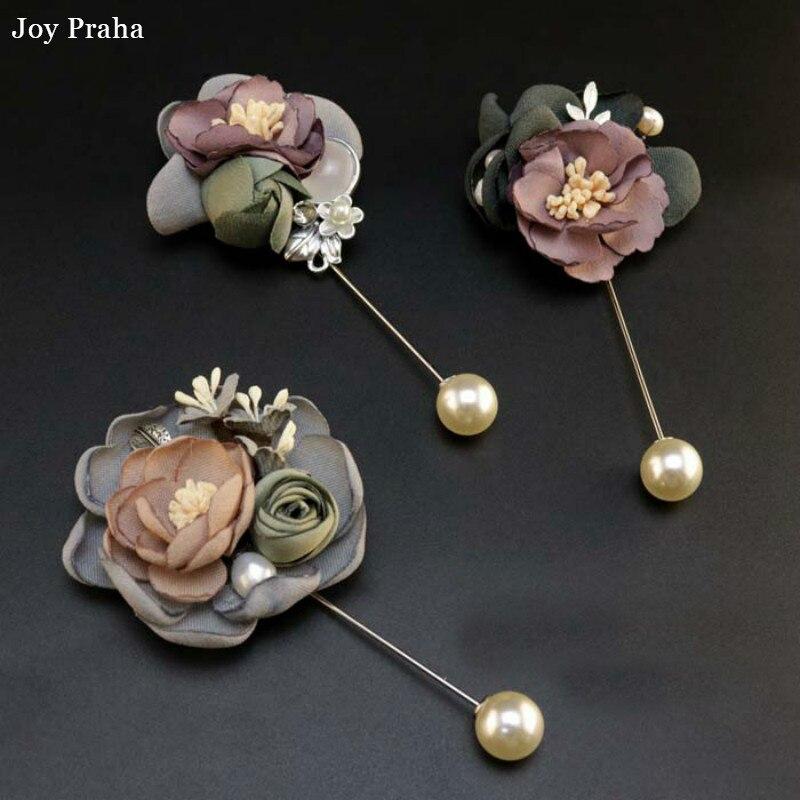 Original design women brooch / Flower fabric brooch / wholesale dropshipping