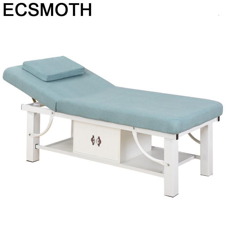 Letto Pieghevole Plegable Cama Para Masaje Pedicure Massagetafel Mueble Salon De Pliante Table Chair Folding Massage Bed