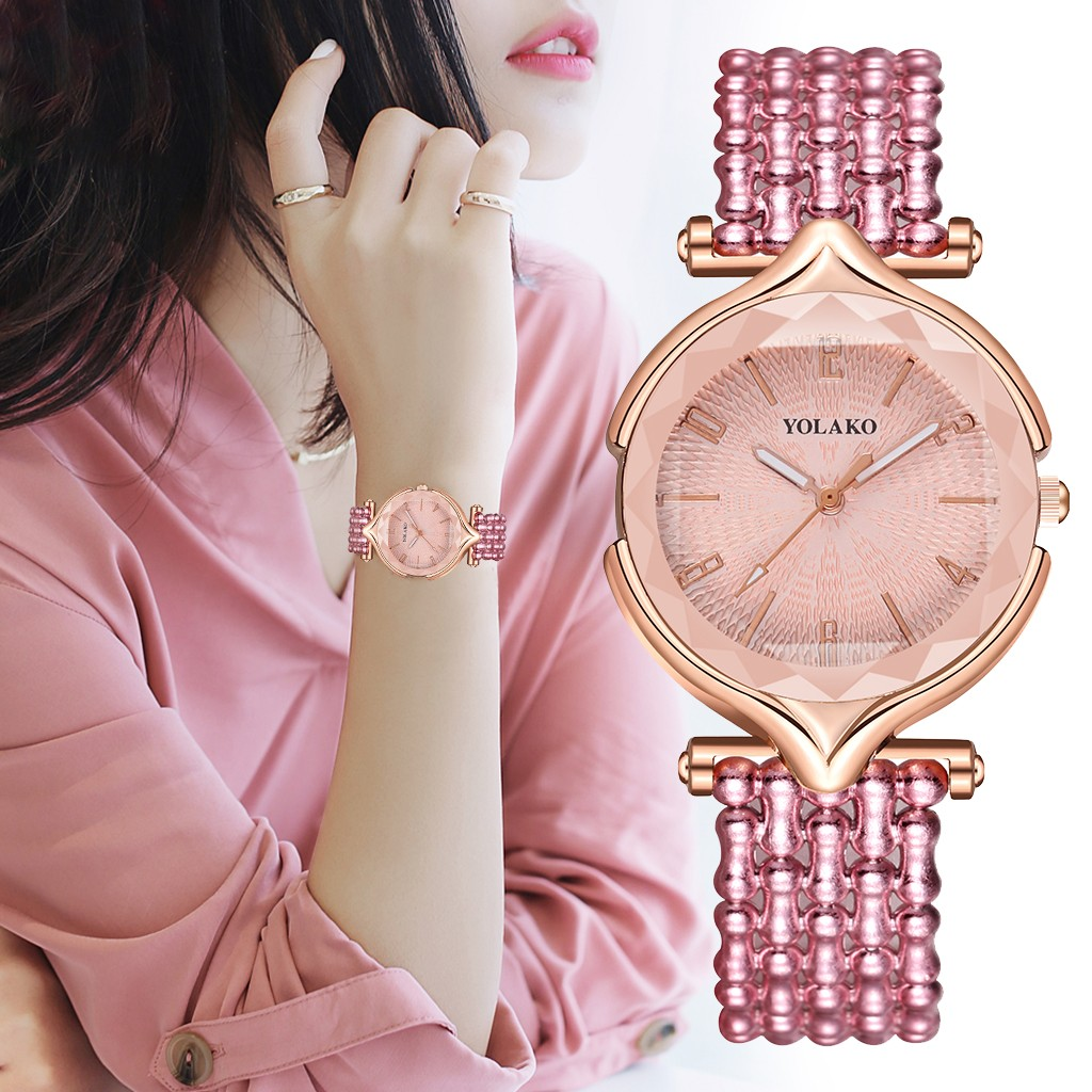 YOLAKO Fashion Women Watches Simple Romantic Calendar Watch Women's Wrist Watch Ladies Watch Relogio Feminino Reloj Mujer %