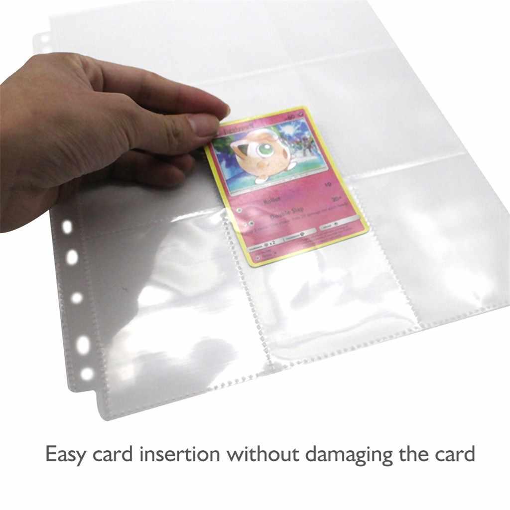 10 個財布アルバムページコレクション 90 ポケット取引ゲームカードセット収納カード収納袋自宅保管アルバムカードカバー #10