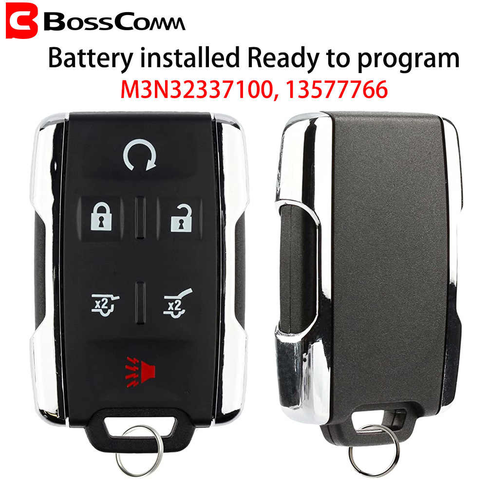 2 New Replacement Keyless Key Fob Remote Control For Chevy GM 13577766 GMC