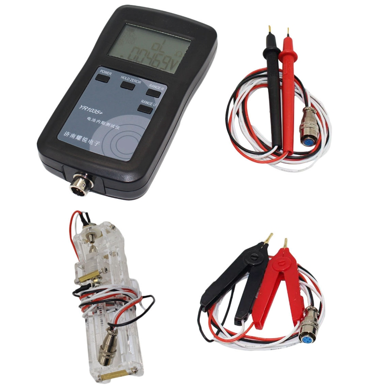 4 Line Yr1035 High Precision Lithium Battery Internal Resistance Detector Instrument Ni Mh/ni Cd Button Battery Tester Eu Plug To Prevent And Cure Diseases
