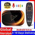 ТВ-приставка VONTAR X3, 8K Max, 4 + 128 ГБ, Android 9, 9,0 дюйма, Amlogic S905X3, 32 + 64 ГБ, 1000 Мбит/с