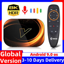 Caixa de tv 8k max 4gb 128gb android 9 9.0 amlogic s905x3 32gb 64gb rom 1000m wifi duplo 4k 60fps youtube conjunto caixa superior