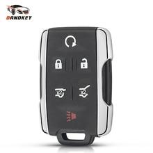 Dandkey Keyless Entry Remote Case For Chevrolet Tahoe Suburban Sierra Silverado Smart Key Shell Housing For GMC Yukon XL
