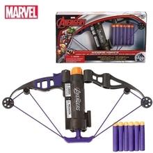 Marvel vingadores hawkeye longshot arco clinton francis barton arma de brinquedo balas figura ação presente aniversário brinquedo para crianças garoto
