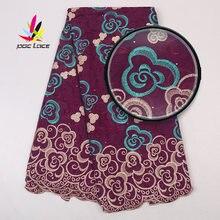 Африканские сухие ткани высокого качества Нигерия кружево швейцарский
