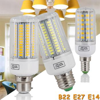High Power 220V LED Bulb Corn Bulb Light Bulbs E27 E14 B22 E12 Screw Base 110V Room White Lamp Replace 150W Incandescent Lampada image