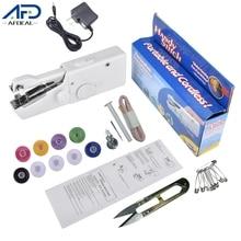 Sewing-Machines Handheld Portable Household Cordless Needlework Us/eu-Plug Mini