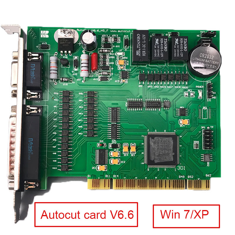 Original AUTOCUT Card V6.6 Program Control System Based on Windows 7/XP for CNC EDM Machine image