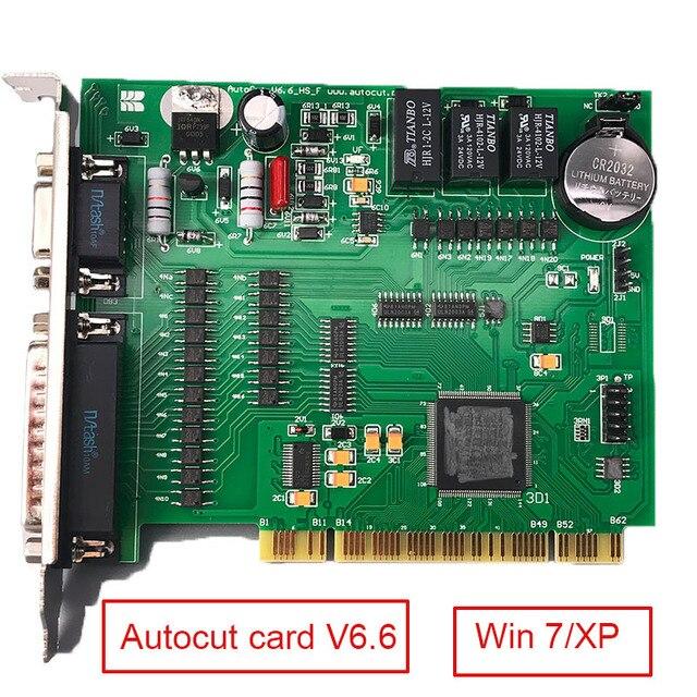 Système de contrôle de programme Original de la carte AUTOCUT V6.6 basé sur Windows 7/XP pour la Machine dedm de CNC