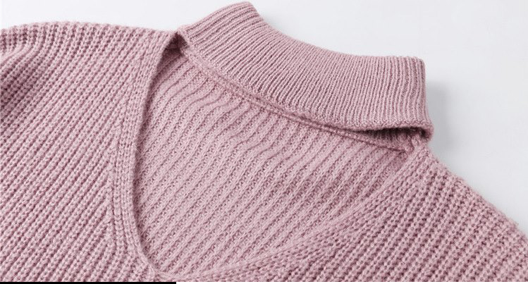CHRLEISURE Women's Sweaters Winter V-neck Sexy Women's Knitted Jacket Trend Bandage Winter Clothes Women 10