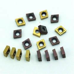 Карбид CCMT060204 VP15TF 10 шт резец для внутренней обточки торцевая фреза ЧПУ Инструмент фрезерного инструмента