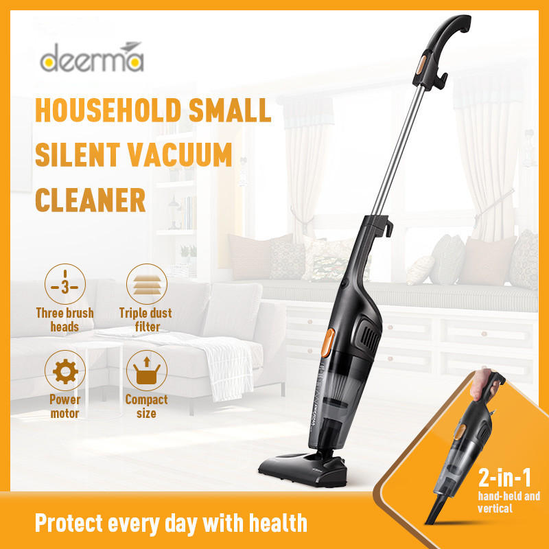 Hot Sale Deerma Portable Handheld Vacuum Cleaner Household Silent Vacuum Cleaner Strong Suction Home Aspirator Dust Collector