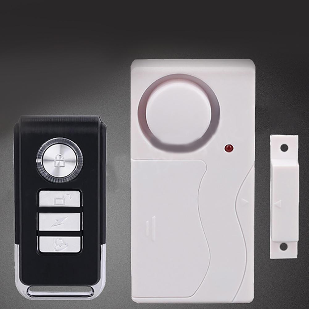 Wireless Remote Control Door Window Alarm Door Magnet Alarms Doors Window Sensor/Siren Burglar Alarm Systems Security Home