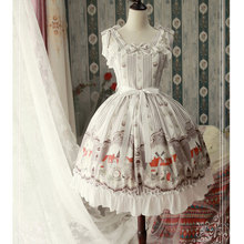 The Musician in Bremen Town ~ Sweet Printed Lolita JSK Dress by Magic Tea Party ~ Pre-order