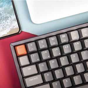 Image 5 - Keychron K2 C V2 Drahtlose Bluetooth USB Mechanische Tastatur Aluminium Rahmen, kompakte 84 Tasten RGB Hintergrundbeleuchtung N Key Rollover