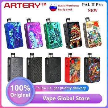 Hot Original Artery PAL 2 Pro Pod Kit MTL & DTL E-cig Vape Kit with 1000mAh Battery & 3ml Pod Pal II Vs Drag Nano / Vinci X