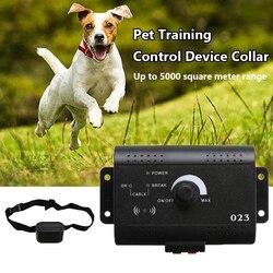 1 zestaw Pet wodoodporny pociąg urządzenie sterujące obroża bezpieczeństwo Pet Dog elektryczny System ogrodzeń elektryczne ogrodzenie dla psów System ograniczający