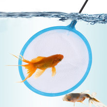 20 Pcs Fishing Net Fish Network Plastic Tear-resistant Salvage Net Aquarium Accessories (Small, Round, Random Color)(China)