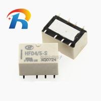 Darmowa wysyłka 10 sztuk/partia przekaźnik sygnału HFD4/3-S HFD4/4.5-S HFD4/5-S HFD4/12-S HFD4/24-S SMD 2A 8PIN 3VDC 4.5VDC 5VDC 12VDC 24VDC