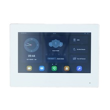 DH Logo VTH5321GW-W 802.3af PoE Android 7-inch digital indoor monitor, Video Intercom monitor,wired doorbell monitor