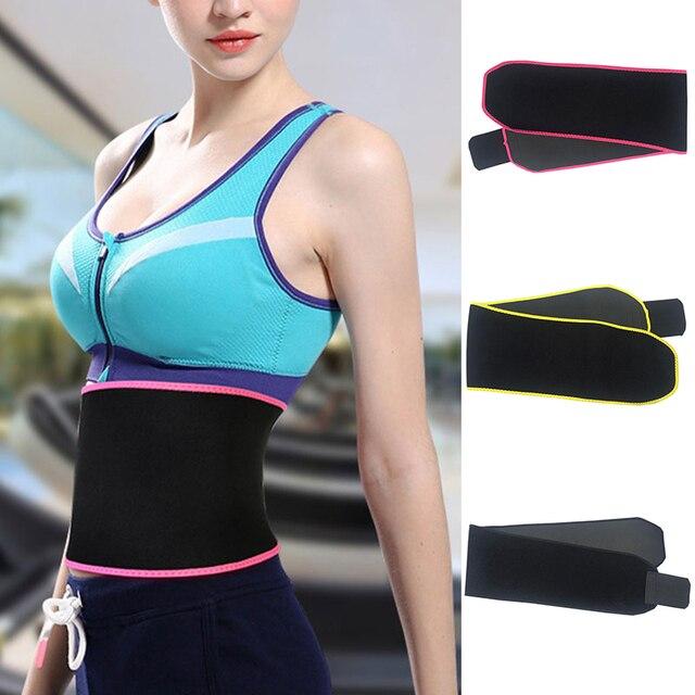 Waist Trainer Belly Slimming Trimmer Sweat Waist Belt Body Shaper Outdoor Workout Running Wide Waistband Corset Waist Shaper